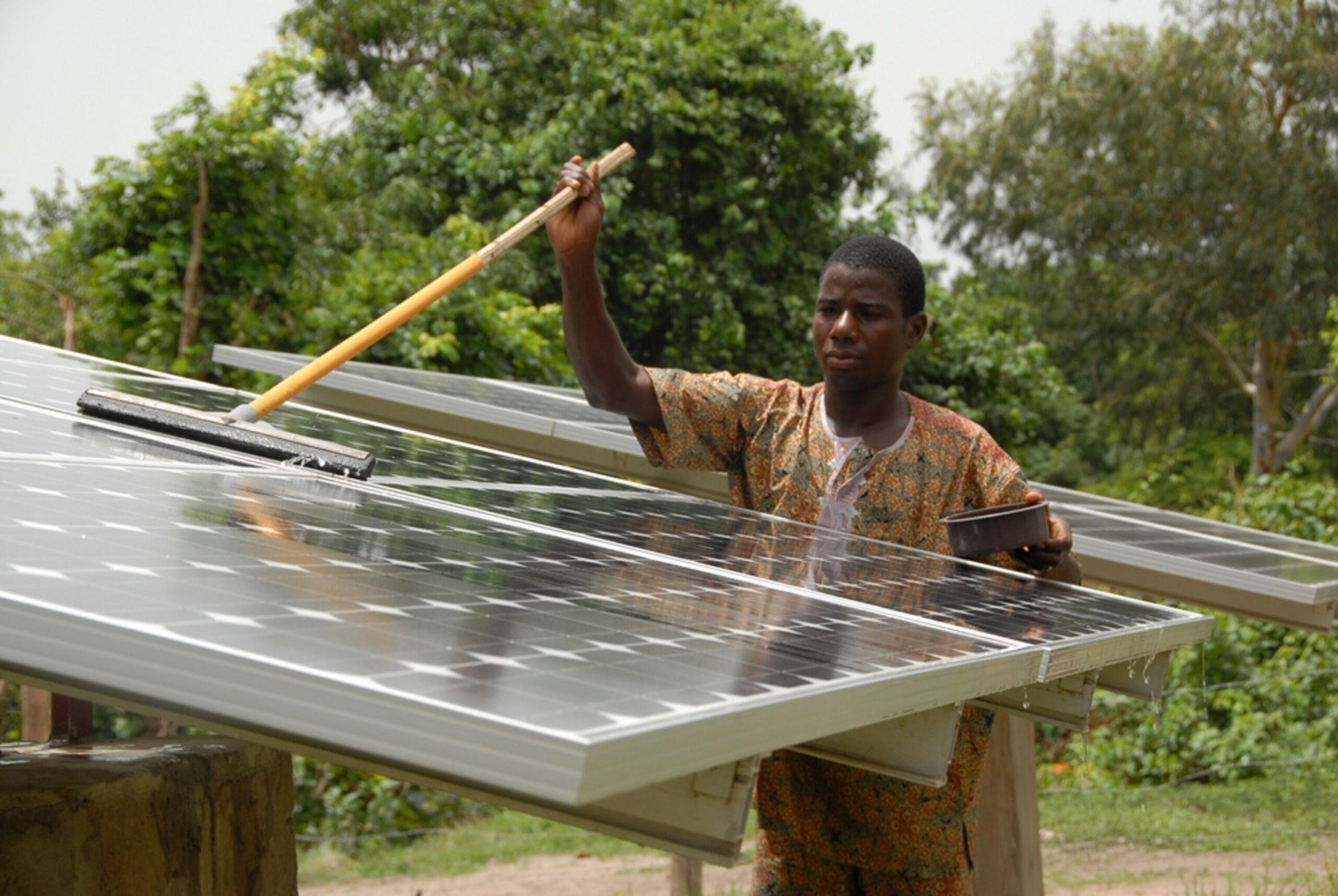 Solar energy expert in Nigeria
